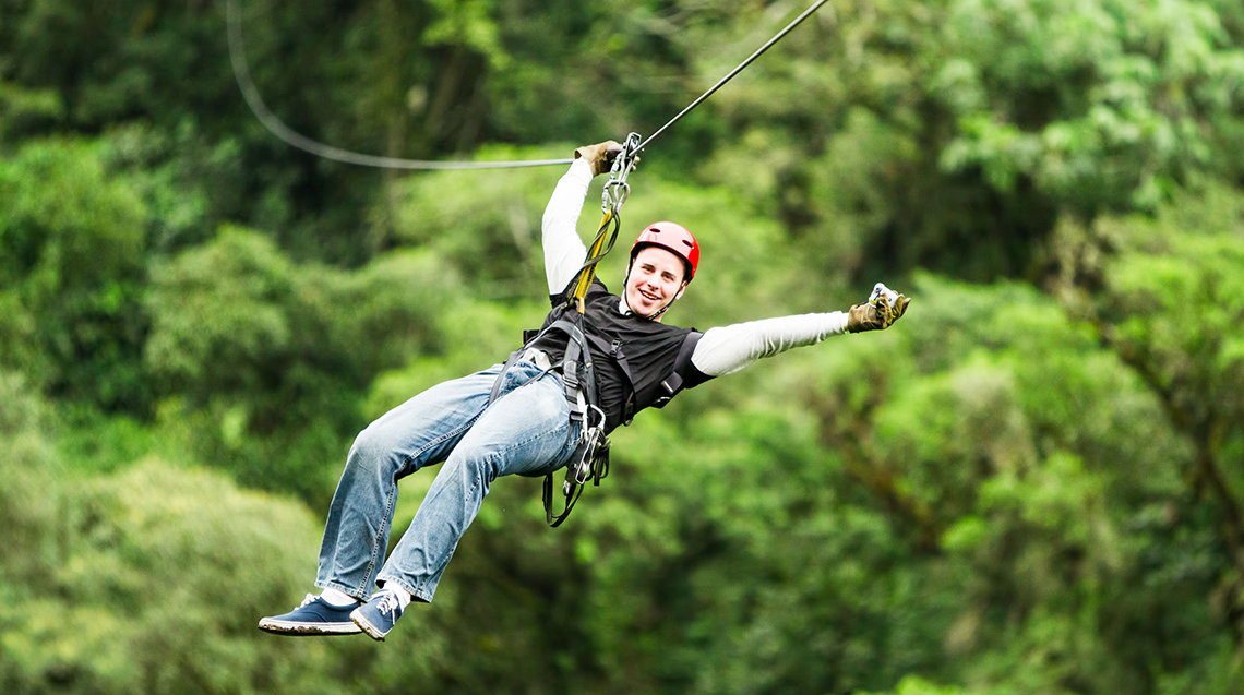 Toro Verde Nature Adventure Park in Puerto Rico
